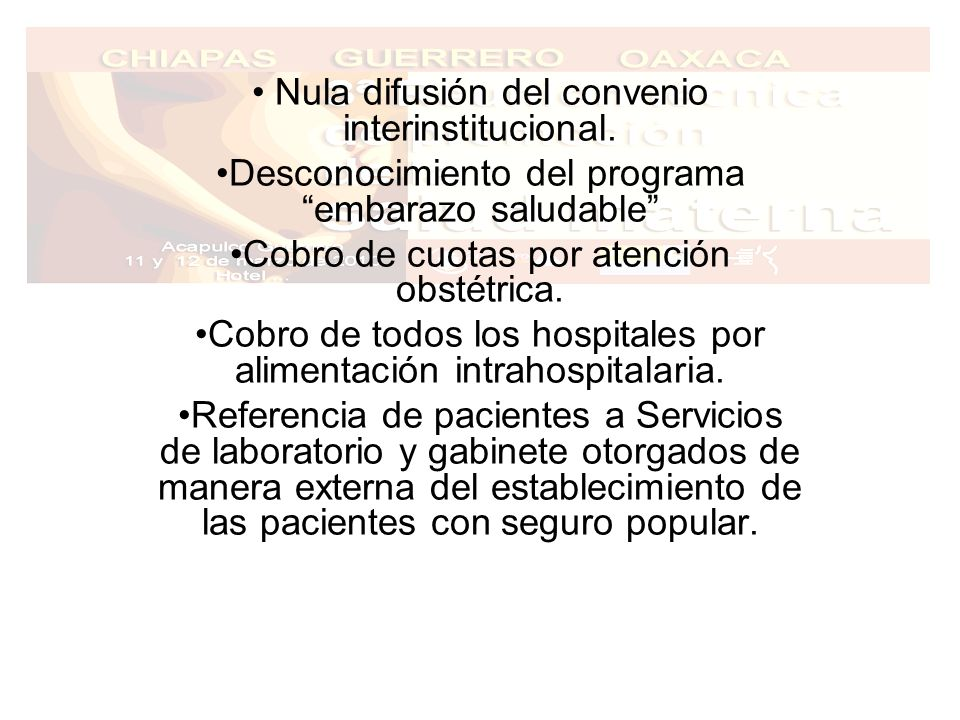 Nula difusión del convenio interinstitucional.