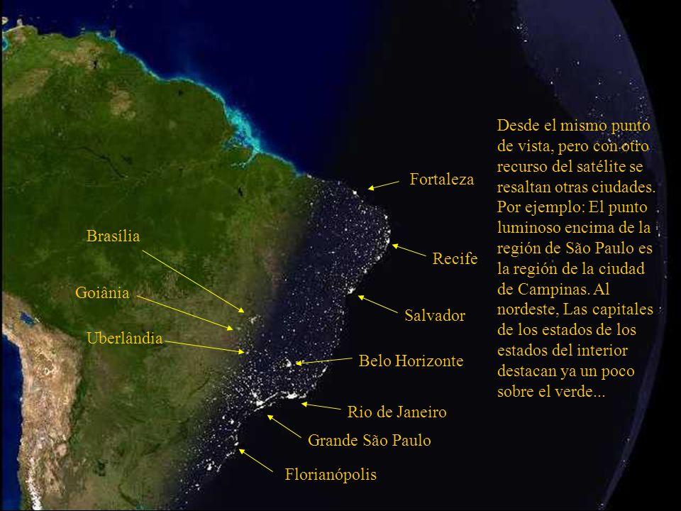 Grande São Paulo Río de Janeiro Belo Horizonte Salvador Océano Atlántico Esta región azul mas clara es la plataforma continental brasilera.