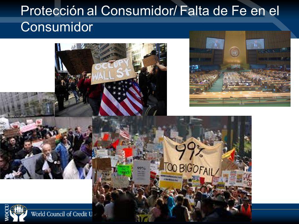 Protección al Consumidor/ Falta de Fe en el Consumidor