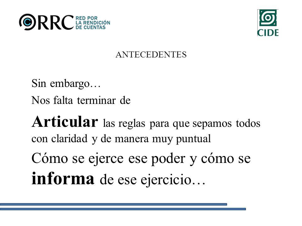 LA RED Colofón… Hace dos años, cuando aún la RRC no existía, un grupo académico encabezado por el Dr.