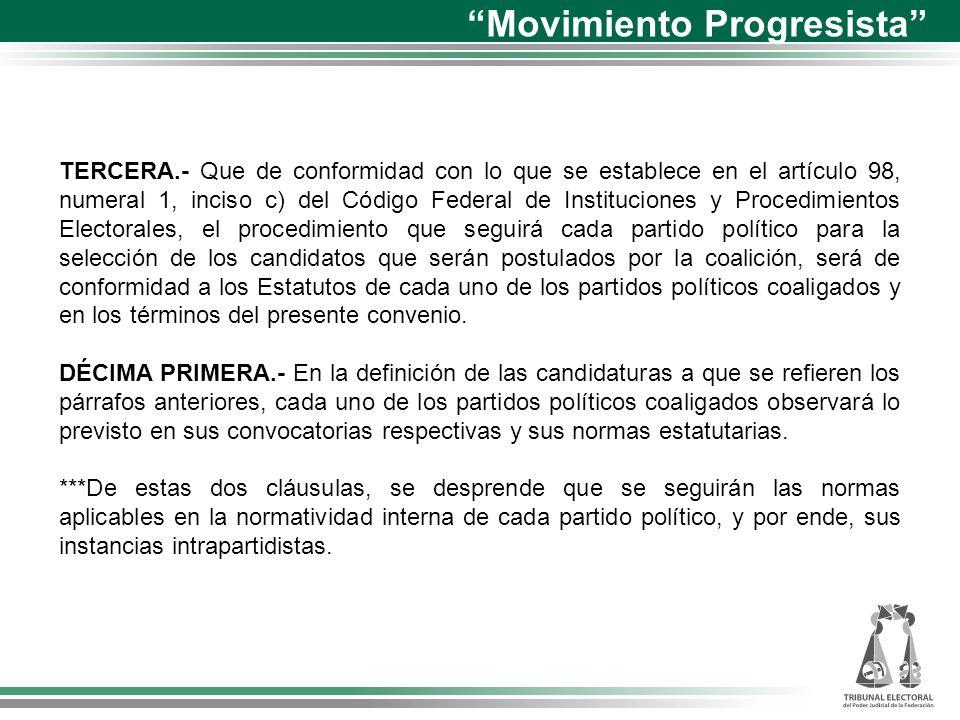 Medios de impugnación Partido de la Revolución Democrática