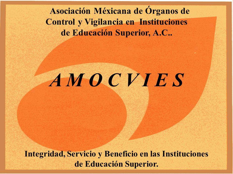 PRESENTE Y FUTURO DE LOS ÓRGANOS DE CONTROL Y VIGILANCIA EN LAS INSTITUCIONES DE EDUCACIÓN SUPERIOR.