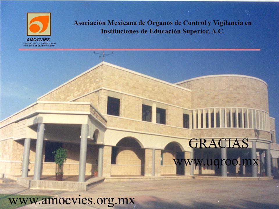 Asociación Mexicana de Órganos de Control y Vigilancia en Instituciones de Educación Superior, A.C.