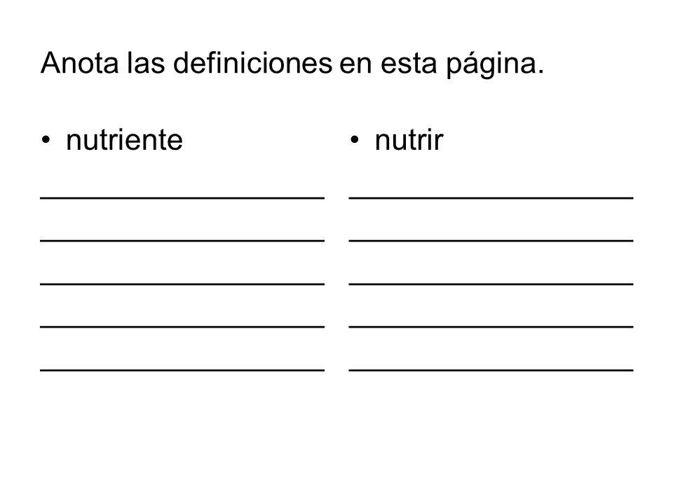 Los nutrientes que recibimos de nuestra alimentaci ó n se pueden dividir en tres tipos: Macronutrientes Micronutrientes Agua