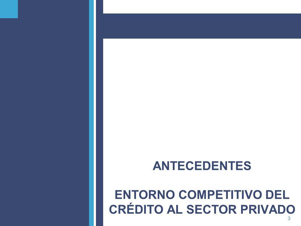 PricewaterhouseCoopers4 Tendencia en el crédito bancario A partir de la crisis bancaria que sufrió nuestro país a mediados de la década de los 90s, el financiamiento al sector privado de las entidades bancarias disminuyó de manera significativa hasta los años 2002-2003.