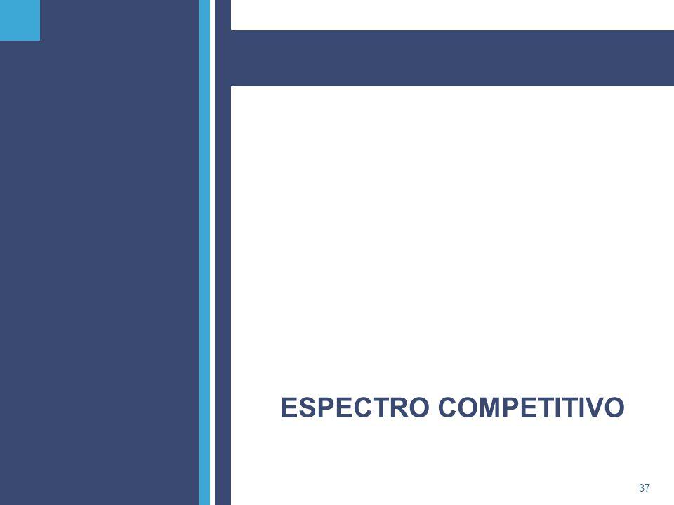 PricewaterhouseCoopers37 ESPECTRO COMPETITIVO