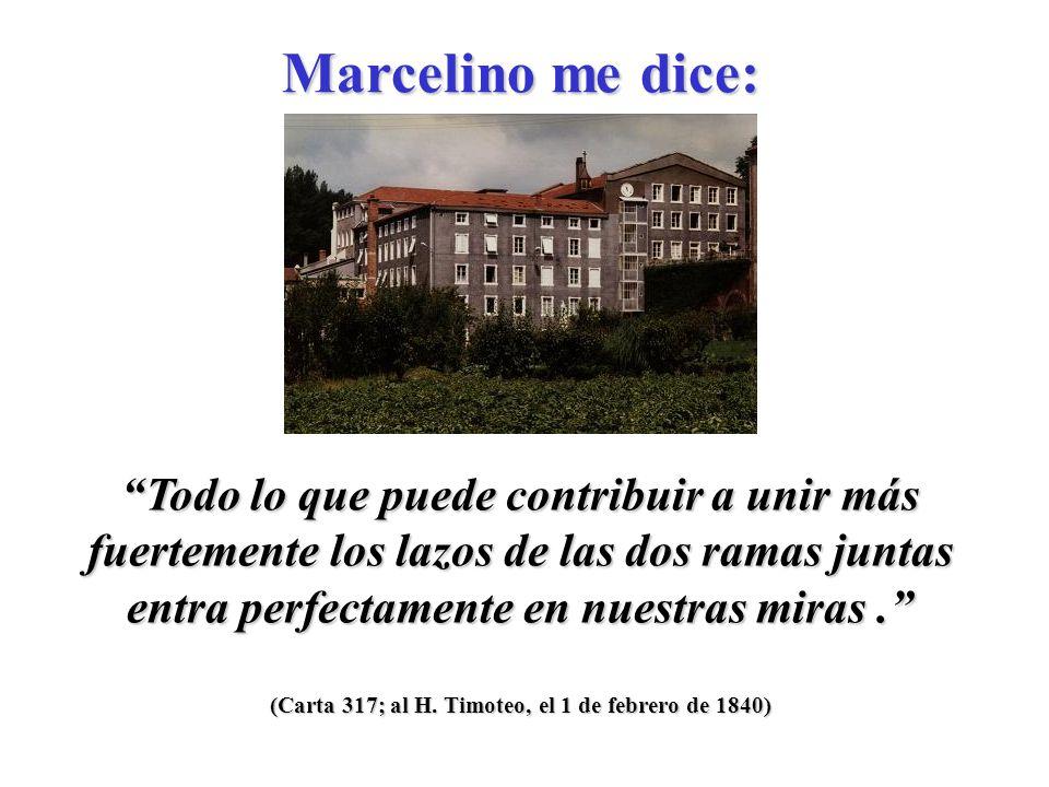 (Carta 315; al Pbro. Gire, el 21 de enero de 1840) Es esencial en la construcción de una casa de educación no andar con estrecheces ni reducirse a lo
