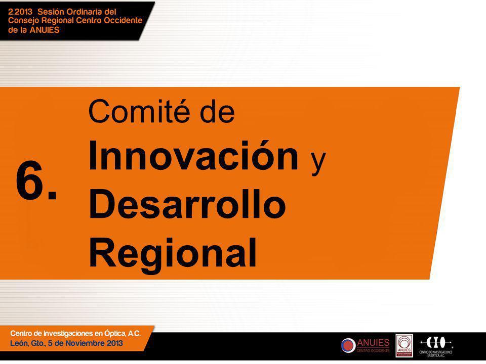Comité de Innovación y Desarrollo Regional 6.