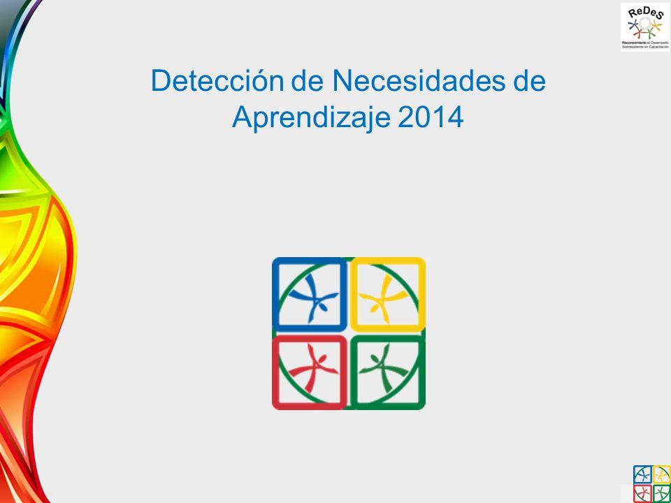 Detección de Necesidades de Aprendizaje 2014