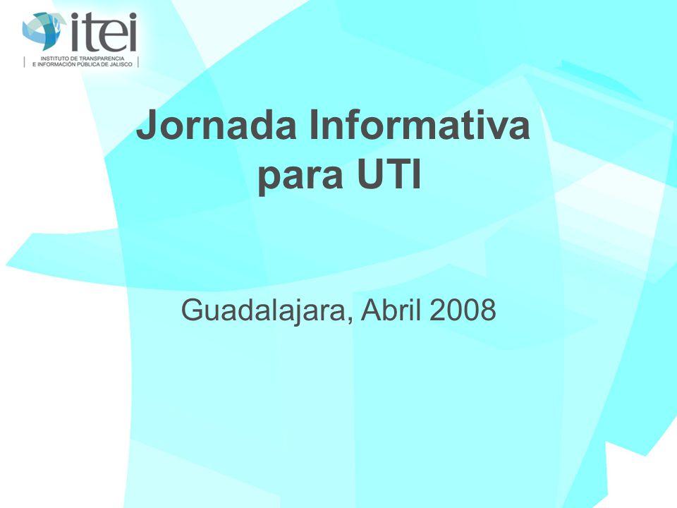 Jornada Informativa para UTI Guadalajara, Abril 2008