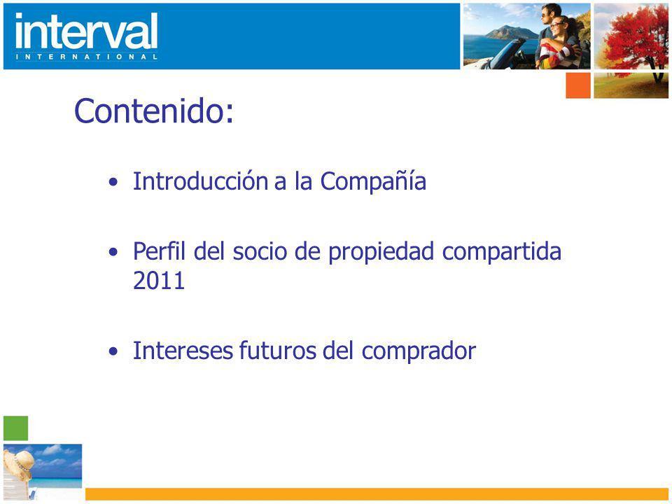 Demográficos destacados Vivienda Mas del 35% de los socios son dueños de una segunda casa de vacaciones.