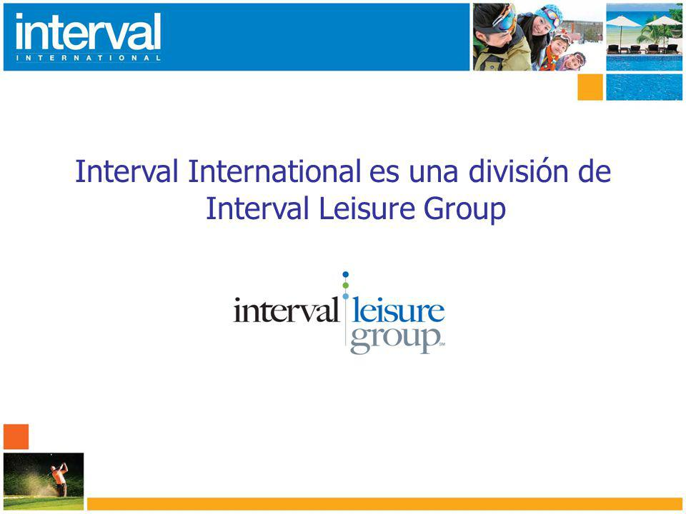 Interval International es una división de Interval Leisure Group