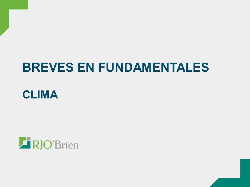 BREVES EN FUNDAMENTALES CLIMA