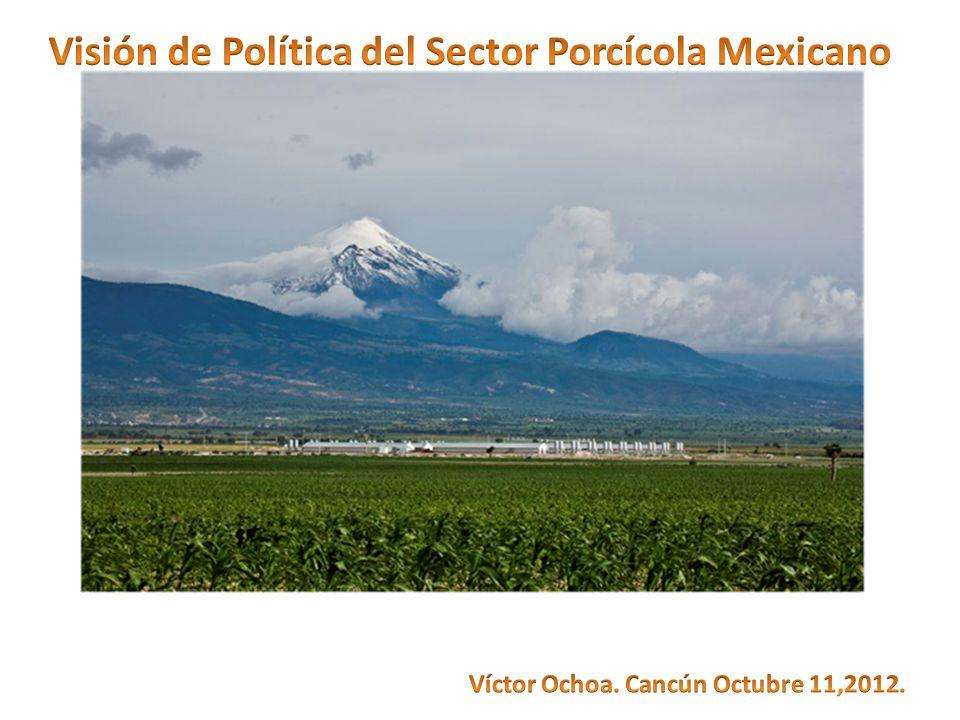 Hechos: 1)La porcicultura de México compite por el mercado Mexicano contra la porcicultura más poderosa del mundo: La de Estados Unidos.
