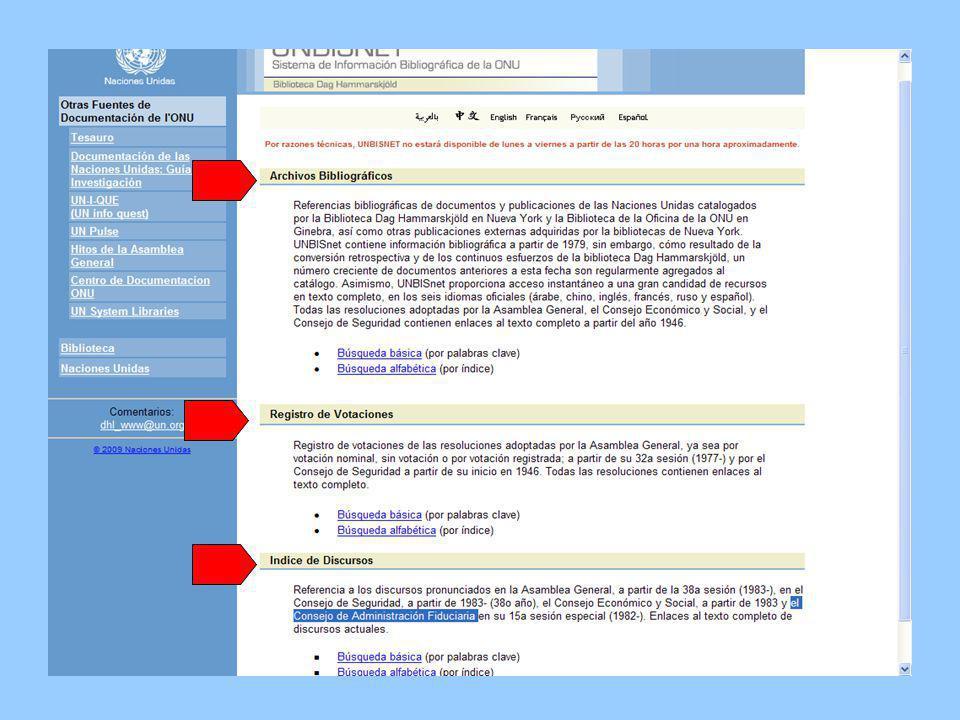 Información sobre las fechas de cobertura para cada una de las tres bases de datos se listan en esta página.