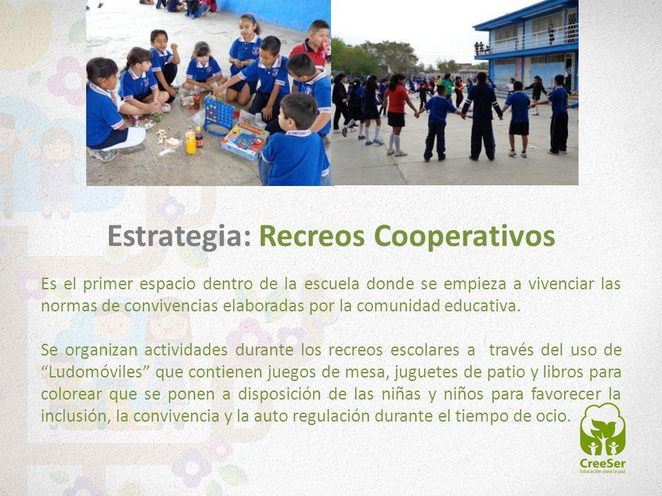 Es el primer espacio dentro de la escuela donde se empieza a vivenciar las normas de convivencias elaboradas por la comunidad educativa. Se organizan
