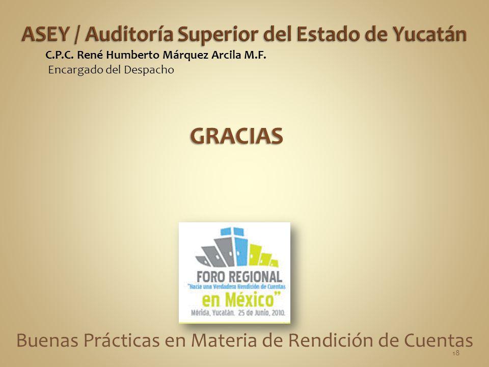 Buenas Prácticas en Materia de Rendición de Cuentas C.P.C.