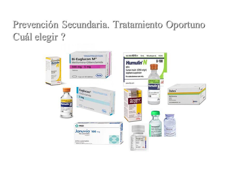 Prevención Secundaria. Tratamiento Oportuno Cuál elegir ?