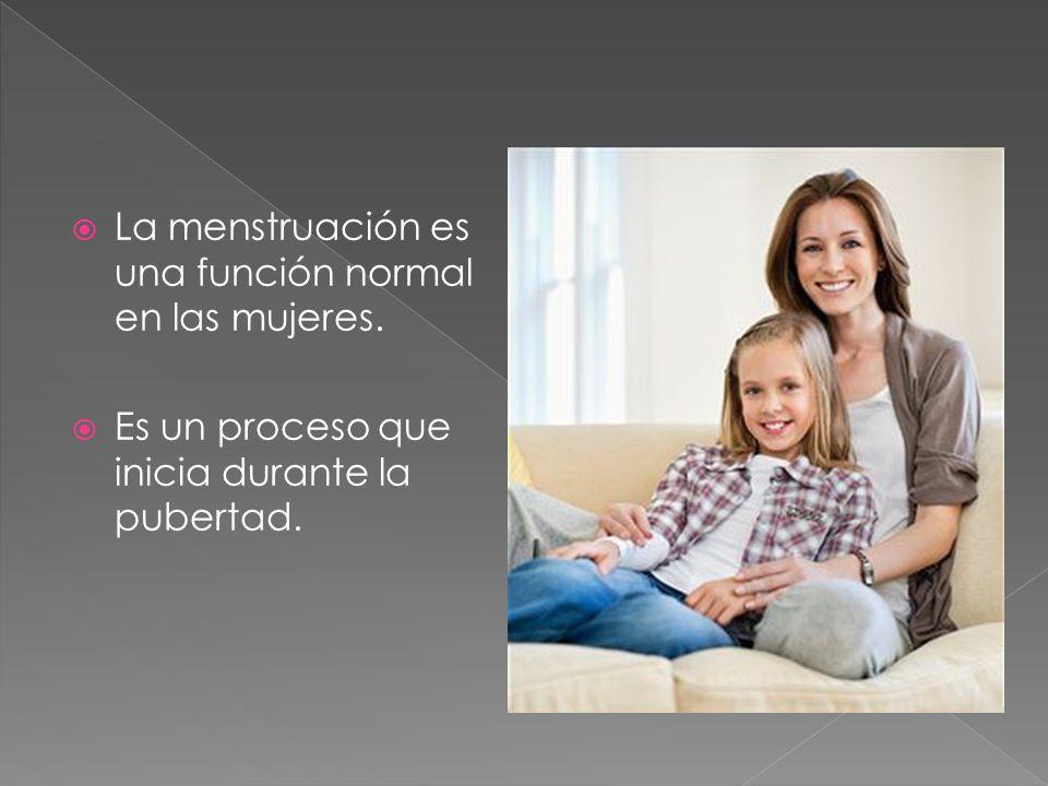 Para que se presente el periodo menstrual se conjuntan varios factores.