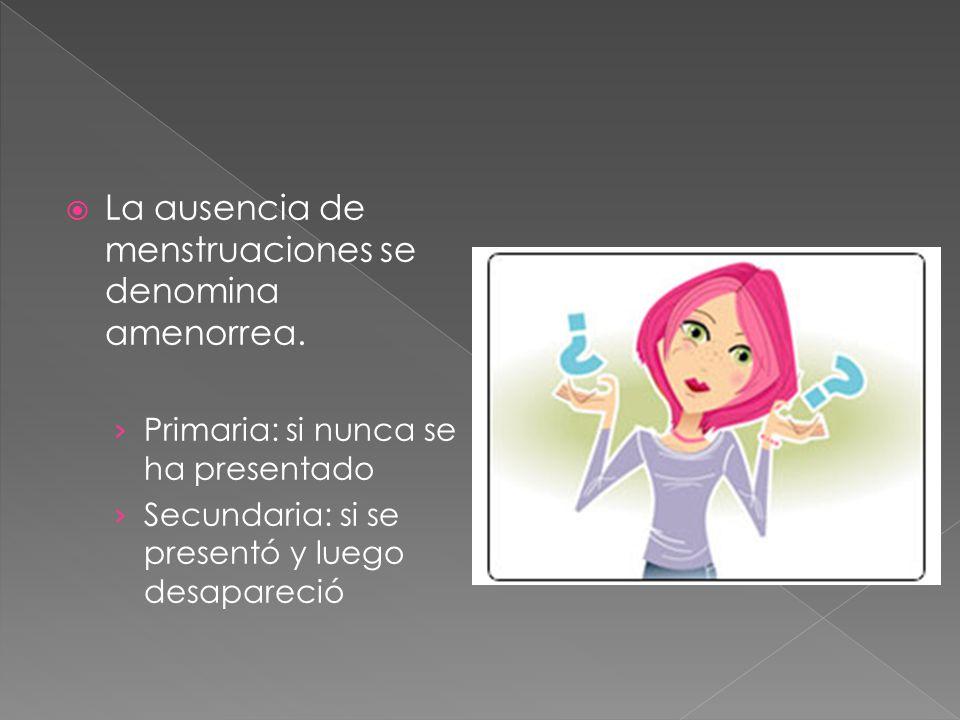 Primaria: A los 14 años y no ha presentado desarrollo de mama o vello púbico A los 16 sí tiene alguno de estos datos.