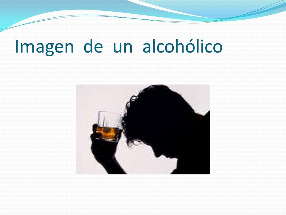 Imagen de un alcohólico