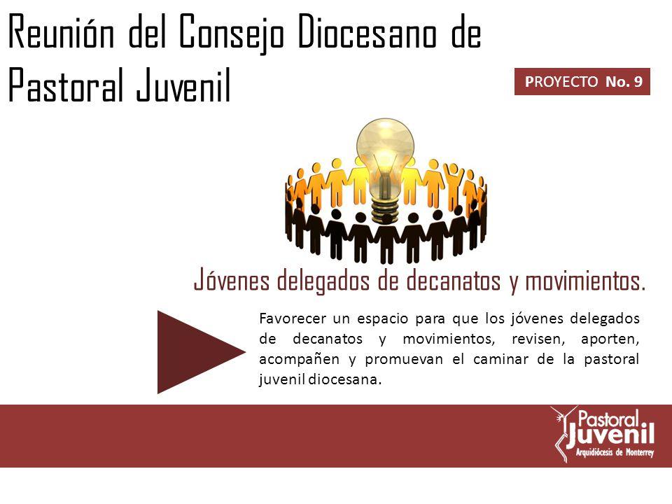 Reunión Anual del Consejo Diocesano de Pastoral Juvenil.