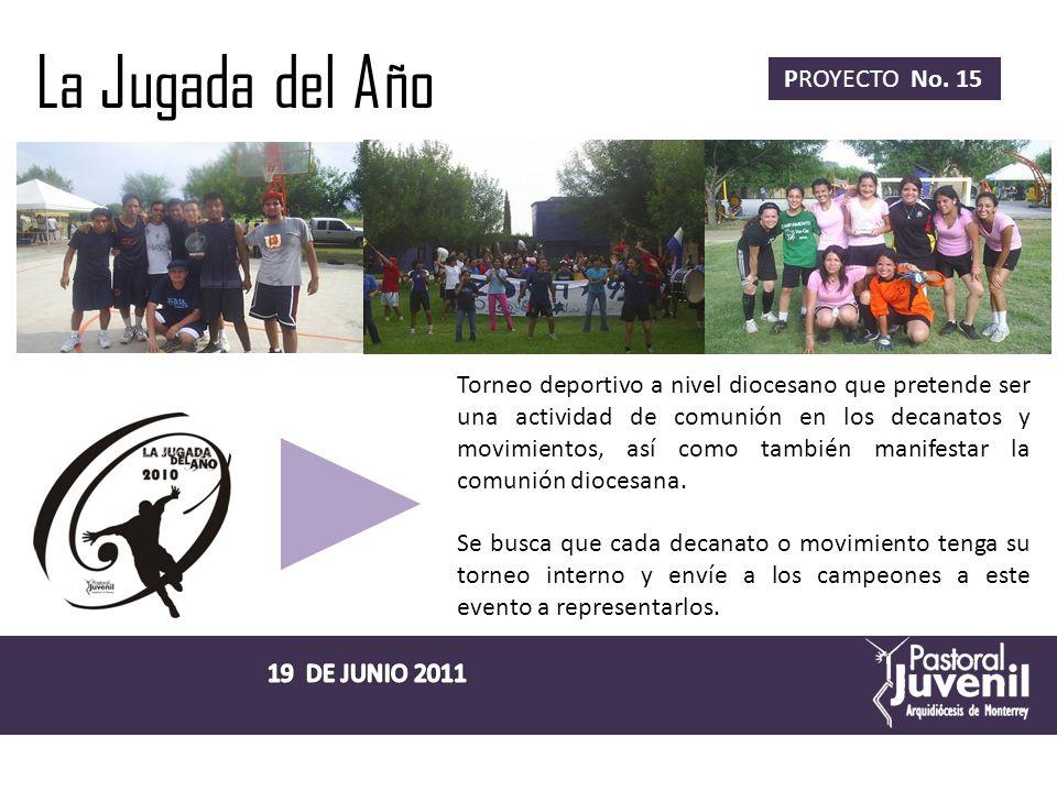 Peregrinación Juvenil Nacional al Cerro del Cubilete PROYECTO No.