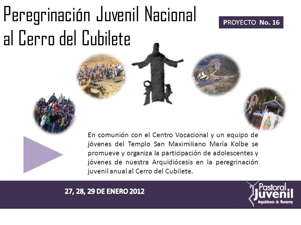 Jornada Mundial de la Juventud PROYECTO No.