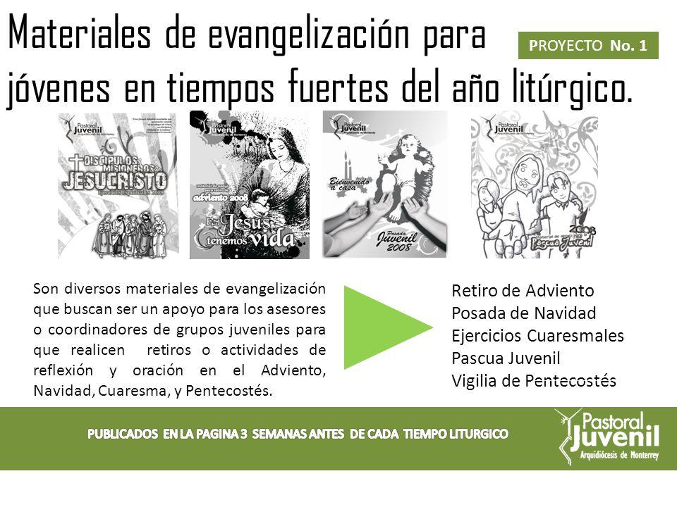 Lectio Divina Semanal PROYECTO No.
