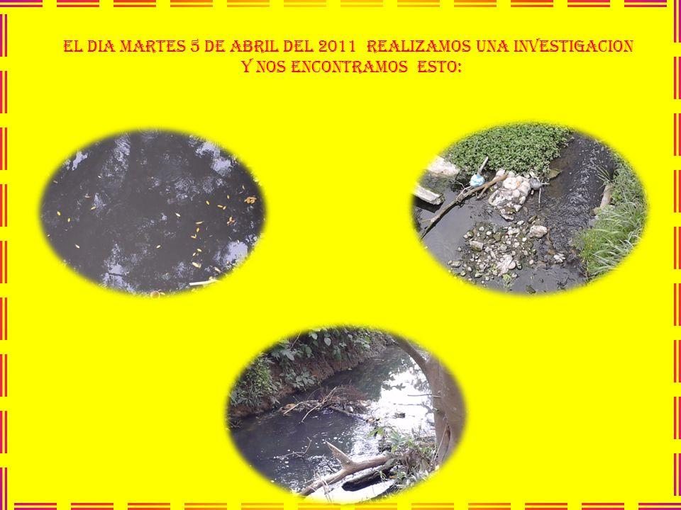 EL DIA MARTES 5 DE ABRIL DEL 2011 REALIZAMOS UNA INVESTIGACION Y NOS ENCONTRAMOS ESTO: