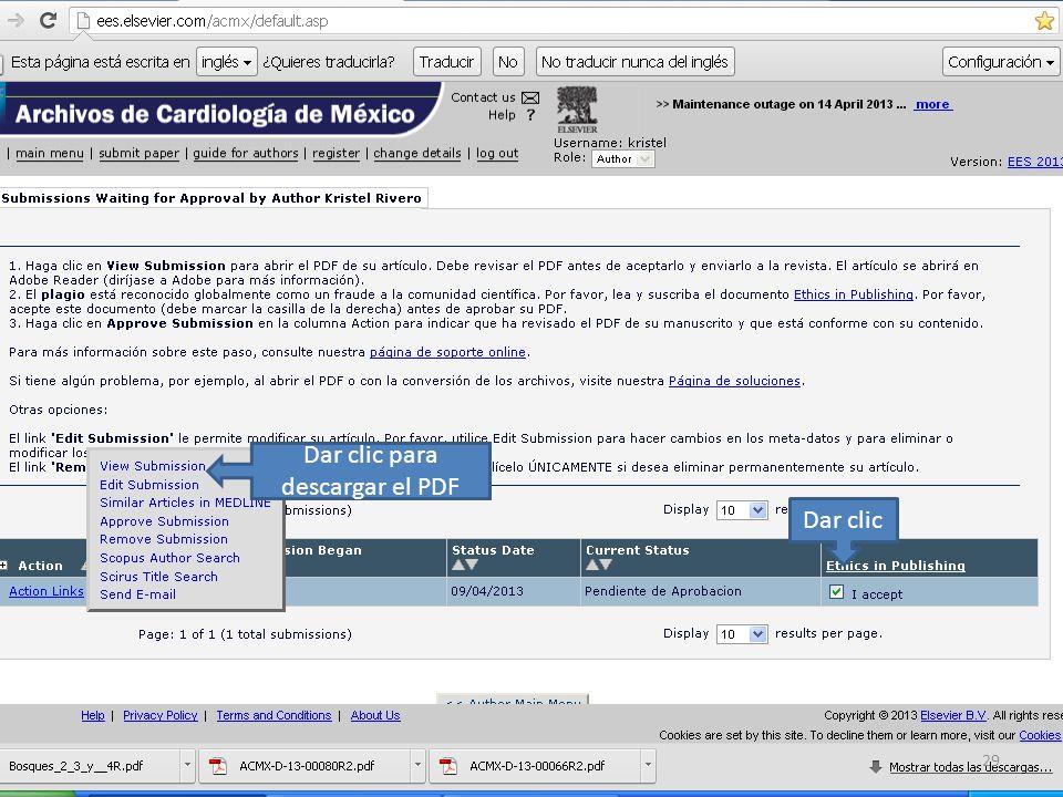 Dar clic Dar clic para descargar el PDF 29