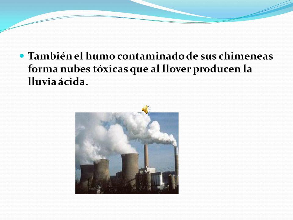 Esta contaminación es muy elevada dada la gran cantidad de agua que necesita la industria en el proceso de producción.