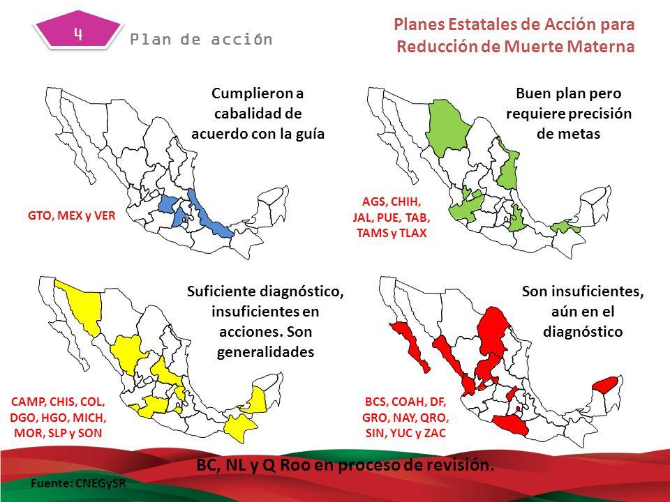 Metodología diagnóstica de identificación de hoyos mediante: Vertiente epidemiológica Vertiente geográfica Vertiente estructural y funcional Identificación de brechas en la atención obstétrica y perinatal.