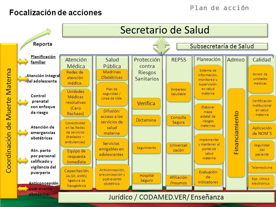 Lanzamiento de la estrategia Madrinas obstétricas en junio del 2011, como política social, en coordinación con DIF estatal.