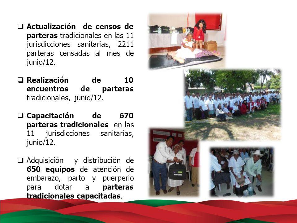 Subrogación de exámenes de laboratorio in situ para otorgar en 629 centros de salud rurales de los Servicios de Salud de Veracruz, la batería de exámenes para embarazadas.