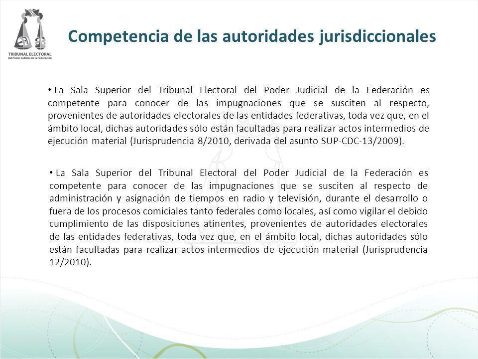 La Sala Superior del Tribunal Electoral del Poder Judicial de la Federación es competente para conocer de las impugnaciones que se susciten al respect