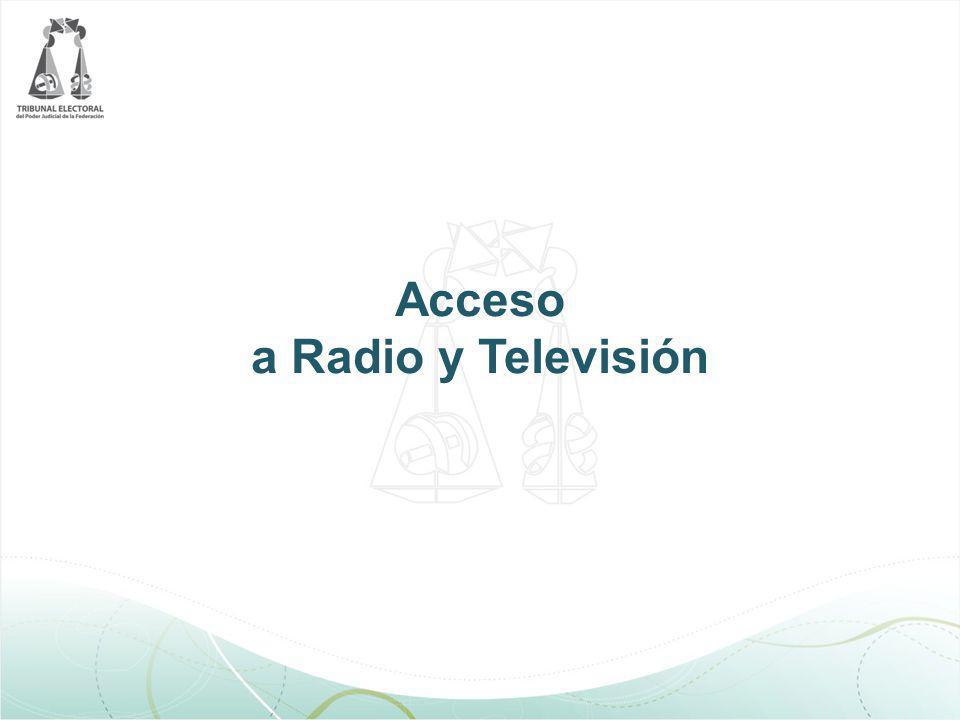 Acceso a Radio y Televisión