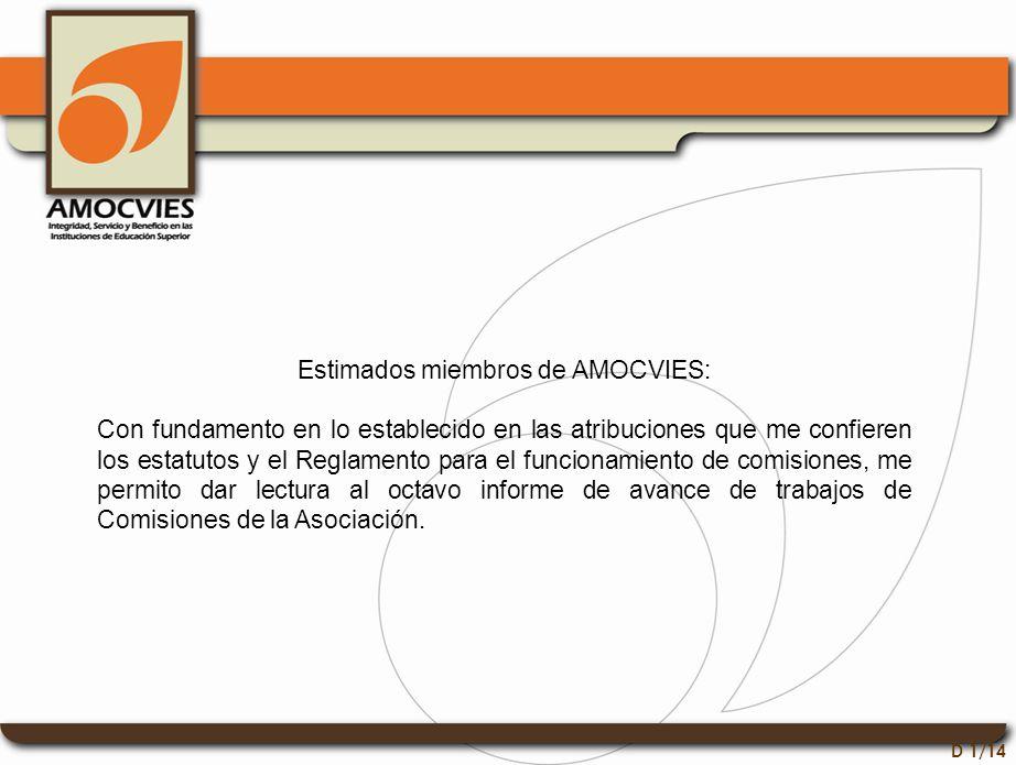 Comisión de Normatividad D 2/14 En el período que se informa no se tuvieron asuntos que atender.