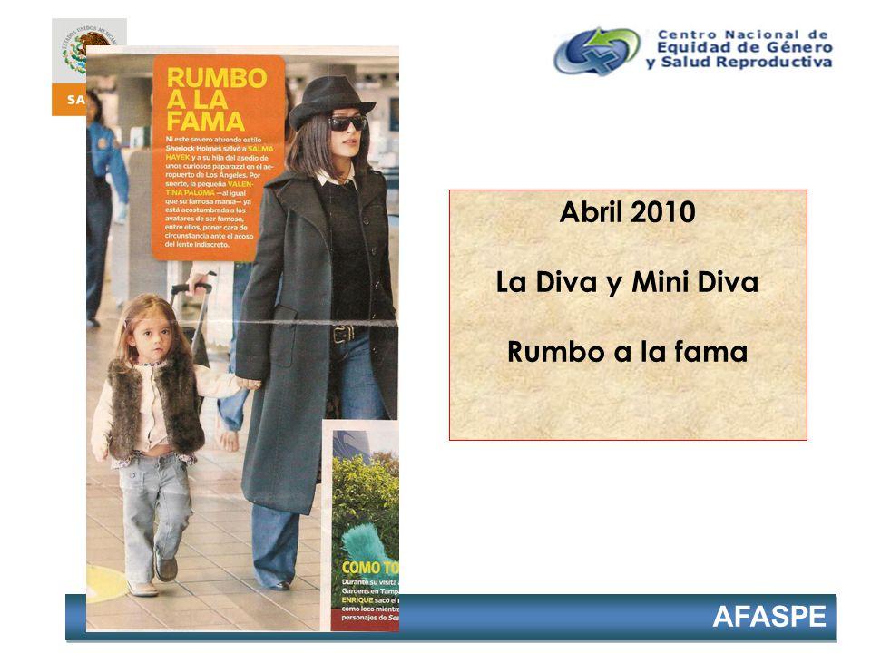 AFASPE Abril 2010 La Diva y Mini Diva Rumbo a la fama