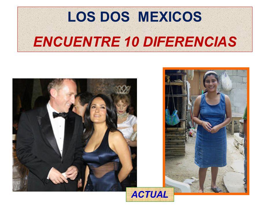 LOS DOS MEXICOS ENCUENTRE 10 DIFERENCIAS ACTUAL