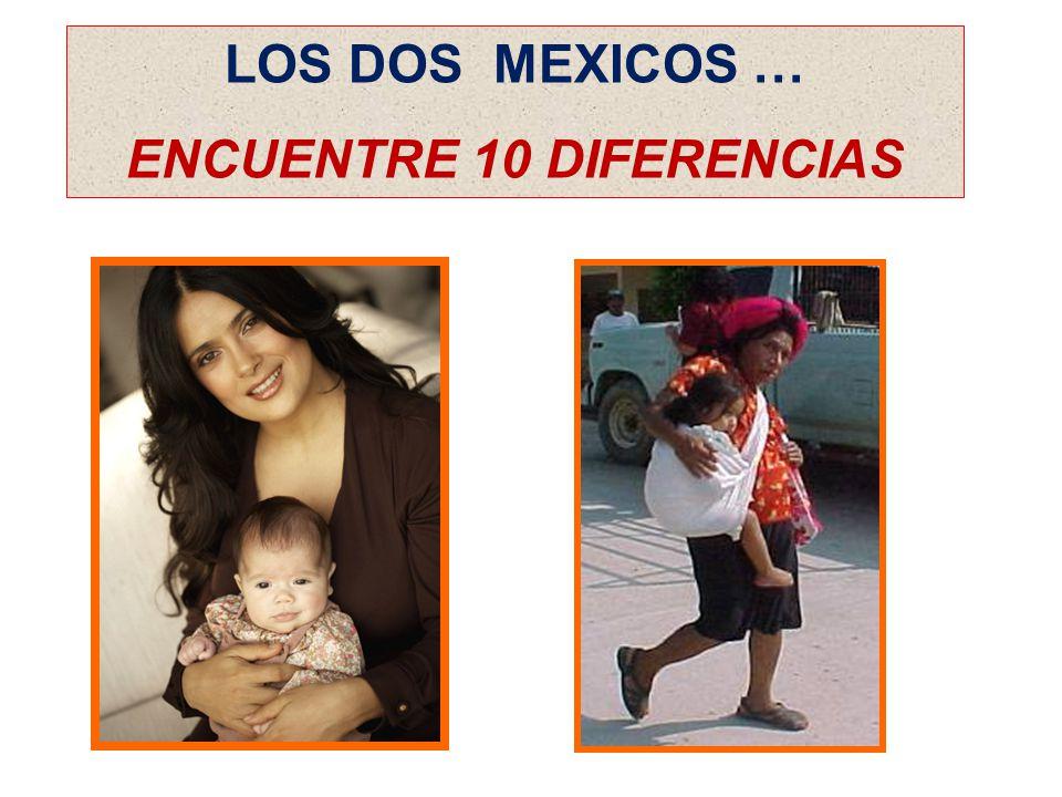 LOS DOS MEXICOS … ENCUENTRE 10 DIFERENCIAS