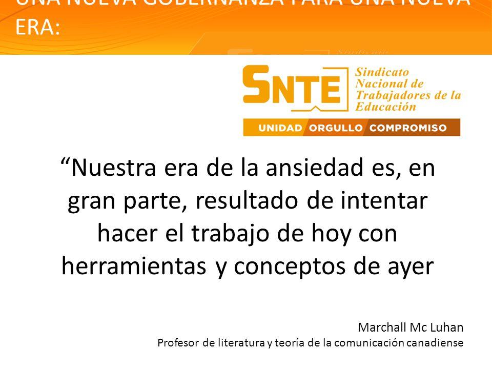 PROGRAMA DE FORMACIÓN SINDICAL PRESENTACIÓN EJECUTIVA 1.- NUEVA GOBERNANZA La cuestión sobre la capacidad / eficacia directiva de los gobiernos.