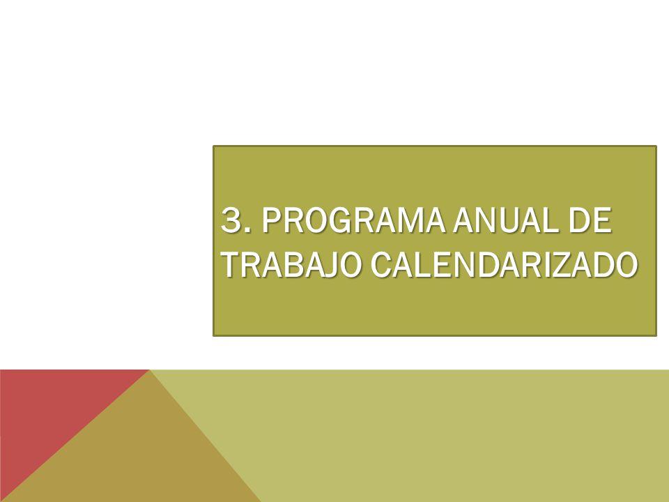 3. PROGRAMA ANUAL DE TRABAJO CALENDARIZADO