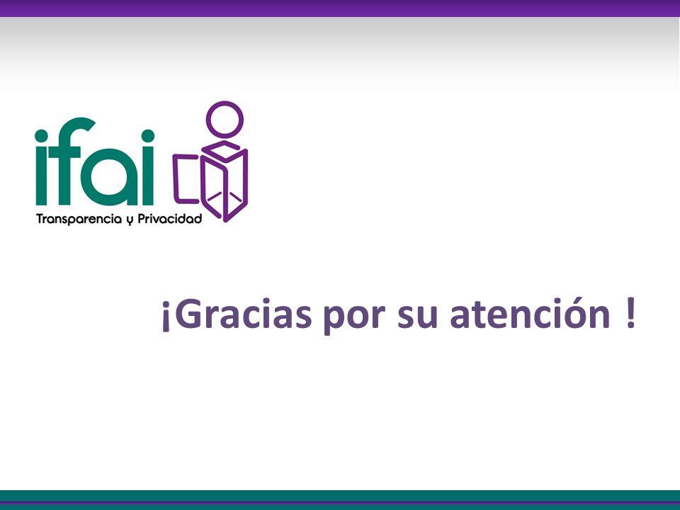 ¡Gracias por su atención !