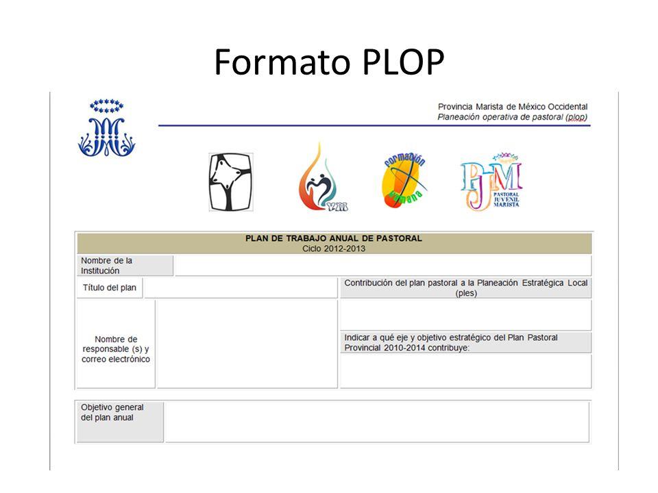 Formato PLOP