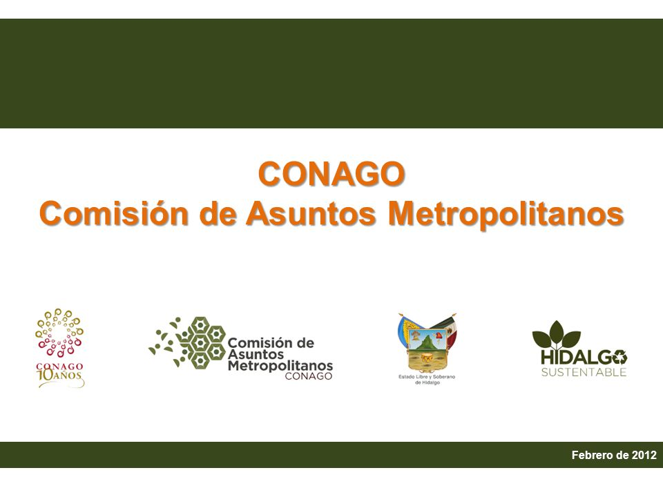4.Agenda Básica Metropolitana 5. Retos de infraestructura, conectividad y movilidad.