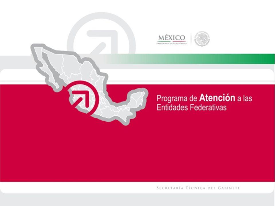 Programa de Atención a las Entidades Federativas