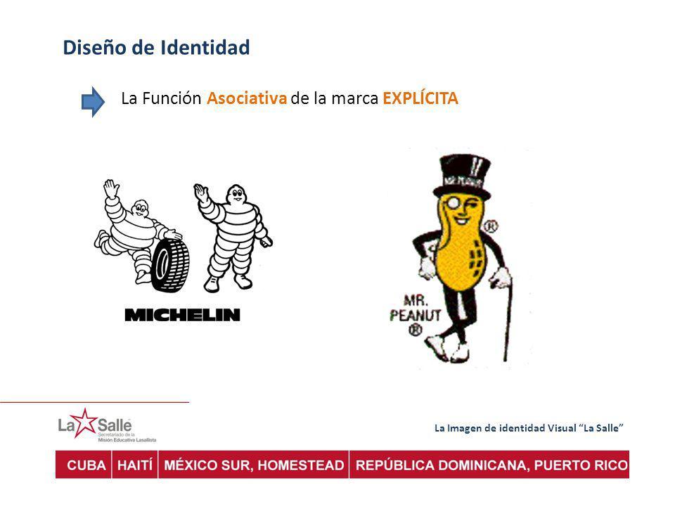 La Imagen de identidad Visual La Salle Diseño de Identidad La Función Asociativa de la marca EXPLÍCITA