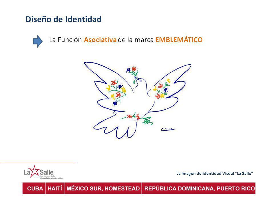 La Imagen de identidad Visual La Salle Diseño de Identidad La Función Asociativa de la marca EMBLEMÁTICO
