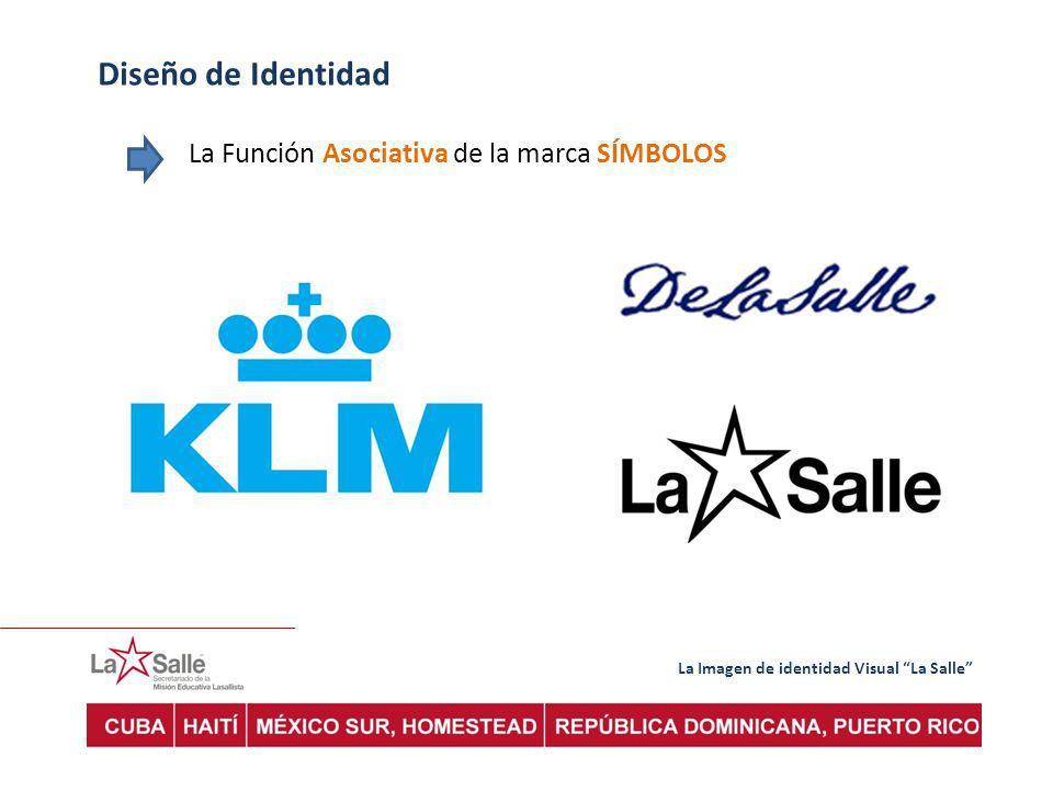 La Imagen de identidad Visual La Salle Diseño de Identidad La Función Asociativa de la marca SÍMBOLOS